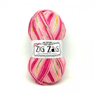 King Cole Zig Zag Sock 3233...