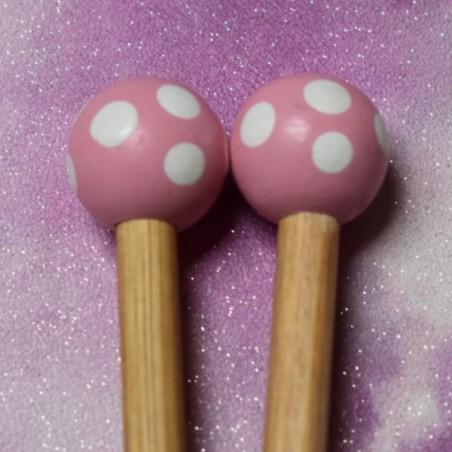 Artviva Pale Pink Needles - Various Sizes