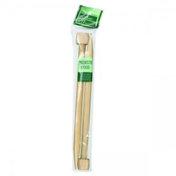 Clover Wooden Needles 35cm...