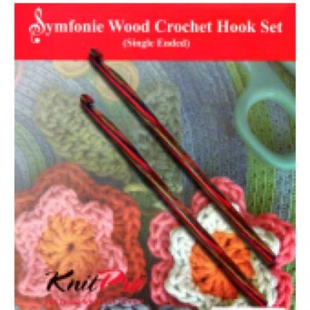 KnitPro Symfonie Crochet Hook Set