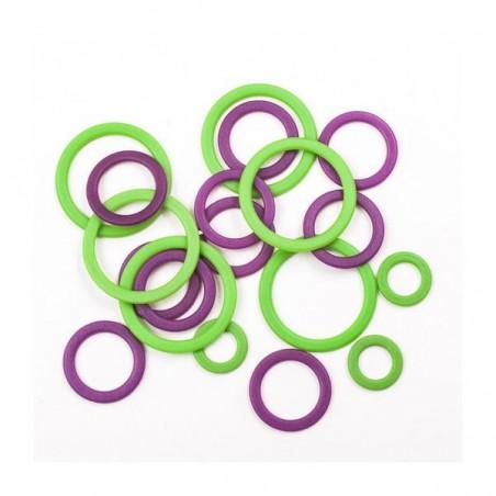 Clover Regular Soft Ring Stitch Markers