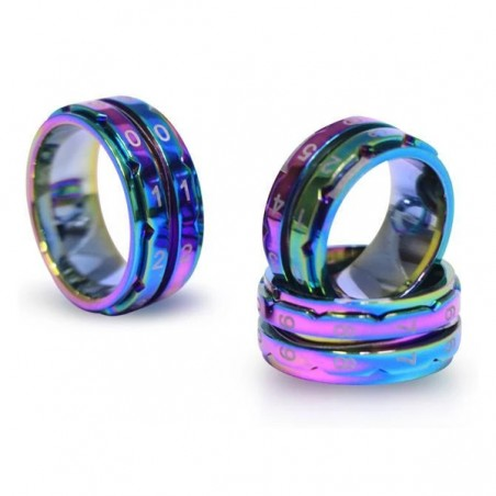 KnitPro Rainbow Ring Counters