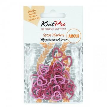 KnitPro Stitch Markers Amour
