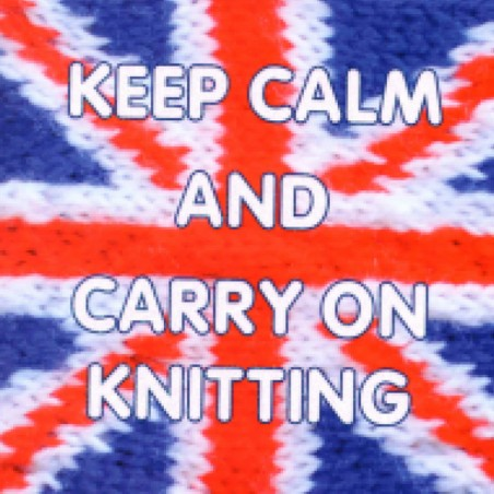 Knit & Purl Keep Calm & Carry On