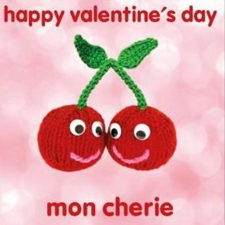 Knit & Purl Happy Valentine's Day Mon Cherie