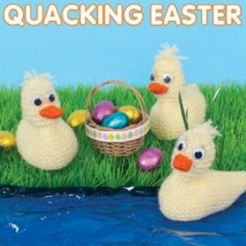 Knit & Purl Quacking Easter