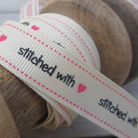 East of India Ribbon Stitched With Love