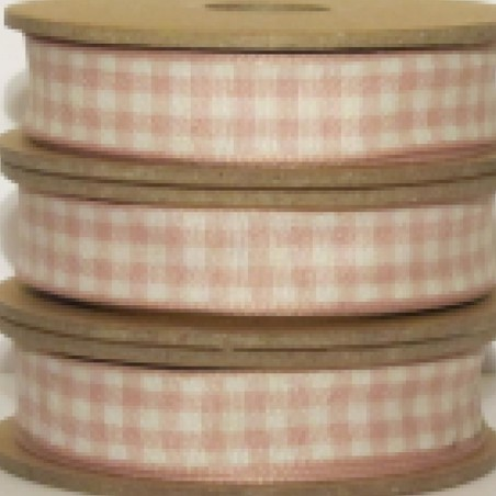 East of India Ribbon Pink Gingham