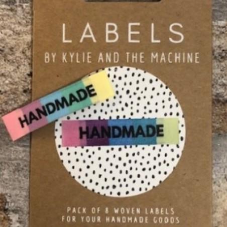 Kylie and the Machine Labels Rainbow Handmade