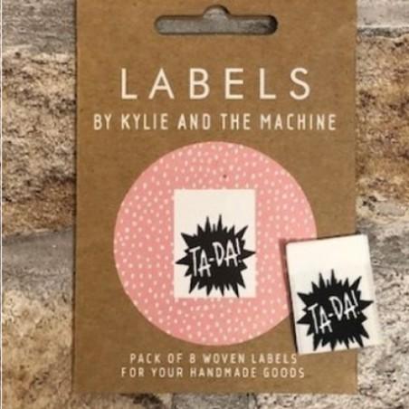 Kylie and the Machine Labels Ta-Da