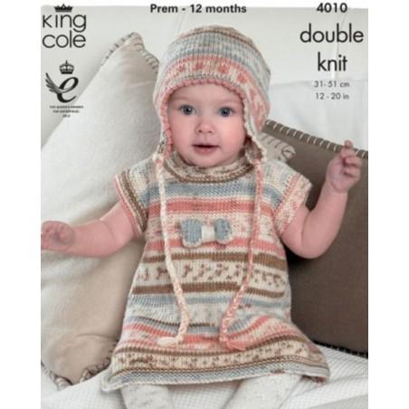 King Cole DK Single Pattern 4010