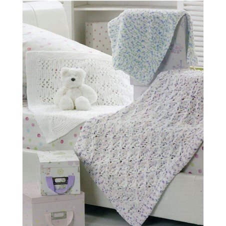 JB197 - Flutterby Three Blankets