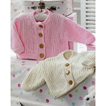 JB199 - Flutterby Round And V Necked Cardigans