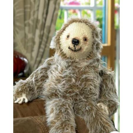 JB282 - Faux Fur Laid Back Larry The Sloth