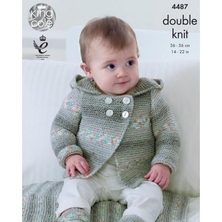 King Cole DK Single Pattern 4487