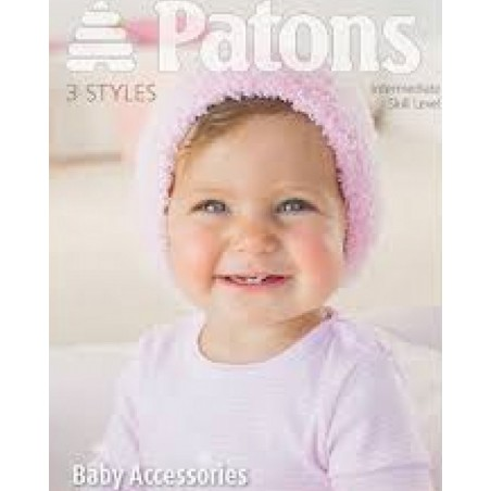Patons Baby Accessories In Fairytale Cloud 3958
