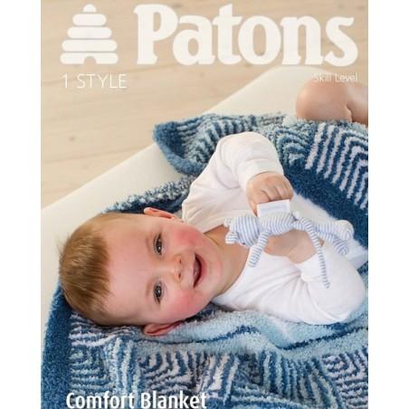Patons Comfort Blanket In Fairytale Cloud 3964