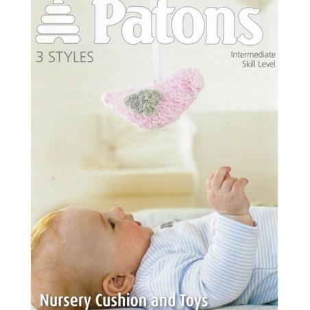 Patons Nursery Cushion & Toys 3962