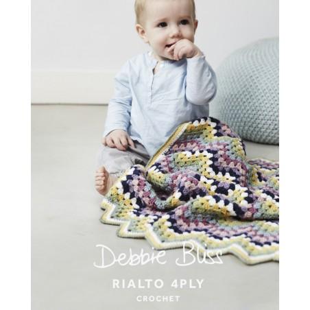 Rialto 4 Ply Zig Zag Crochet Blanket DB014