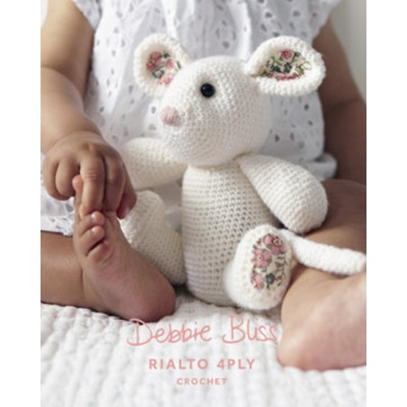 Rialto 4ply Crochet Mouse DB013