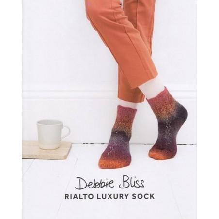 Rialto Luxury Sock Zig Zag Lace DB082