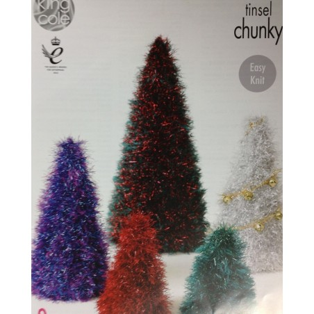 King Cole Tinsel Chunky Pattern 9035