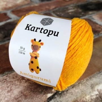 Kartopu Amigurumi K322 Yellow