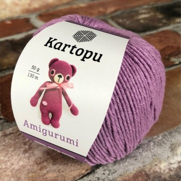Kartopu Amigurumi K1709 Purple