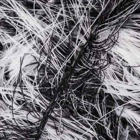 James C. Brett Faux Fur H1 Black & White