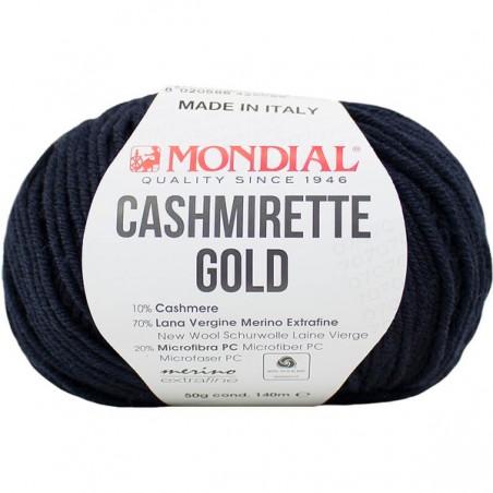 Lane Mondial Cashmirette Gold 417 Navy