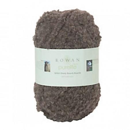 Rowan British Sheep Bouclé 222 Medium Brown Masham